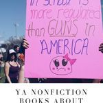 Hand these YA nonfiction books to the budding generation of teen activists. book lists | YA books | YA nonfiction | YA books about activism | activism books | #YALit