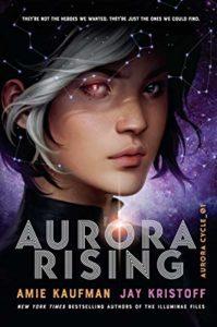 book cover Aurora Rising