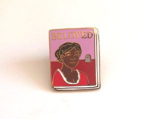 Beloved Book Pin