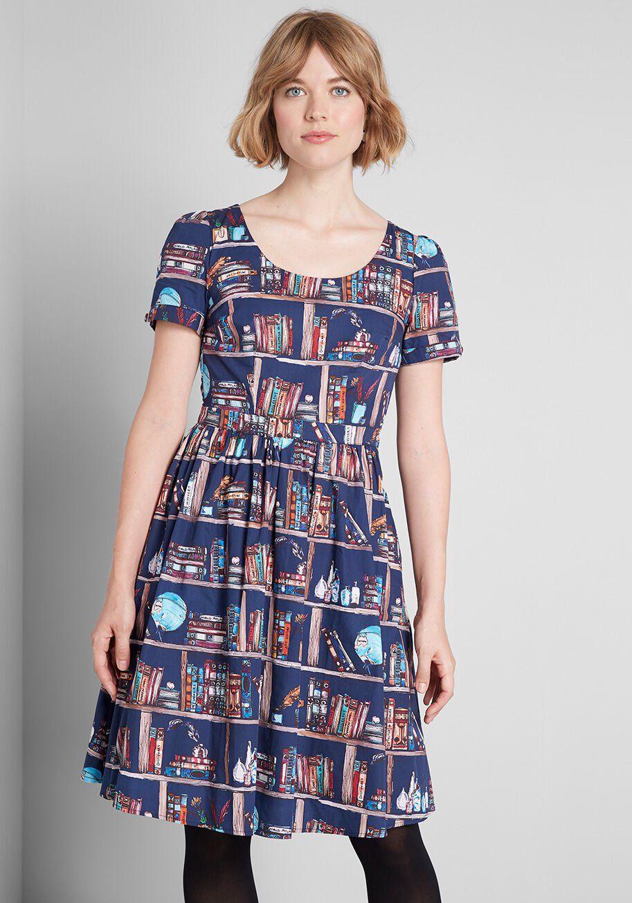 Bookshelf Dress