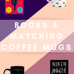 Books And The Perfect Coffee Mugs To Go With Them From BookRiot.com | Book Covers | Books and Coffee | Coffee Mugs | Books | Reading | #Books #Bookworm #Reading #CoffeeMugs