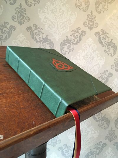 charmed book of shadows faux leather book cover