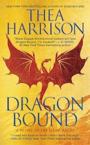 Shifter romance book cover image of Dragon Bound by Thea Harrison