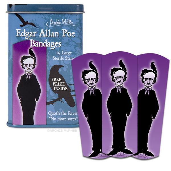 Edgar Allen Poe bandages
