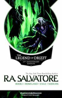 book cover Legend of Drizzt