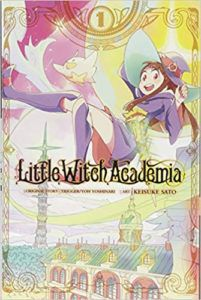 Little Witch Academia from Witchy Books for Halloween | bookriot.com