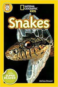 National Geographic Kids Snakes book cover