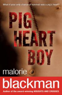 Pig-Heart Boy by Malorie Blackman cover