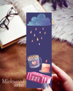 Rainy Day Bookmark