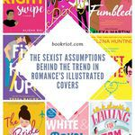 While these Instagram-worthy illustrated covers have helped push more romantic comedies into the hands of readers who might otherwise not be drawn toward them, they're bringing with them downsides, too. [...] We know that YA book purchases are mostly adults and that certainly there's significant crossover readership between YA and romance, but the illustrated cover trend suggests something else, too: sexism. romance books | book covers | illustrated book covers | sexism in publishing