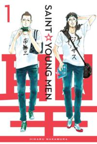 Saint Young Men Manga cover