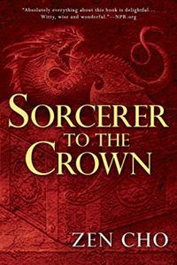 book cover sorcerer to the crown