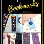 Go out of this world, but never lose your page, with these space bookmarks. bookmarks | DIY bookmarks | space bookmarks | how to make your own bookmarks | bookmark tutorials | space gifts for book lovers | bookish gifts | gifts for readers