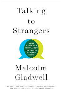 Talking to Strangers by Malcolm Gladwell book cover