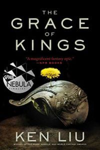 book cover the grace of kings