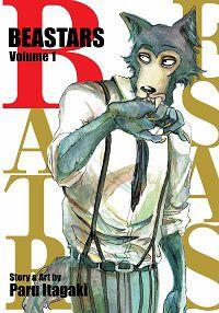 Beastars volume 1 cover - Paru Itagaki