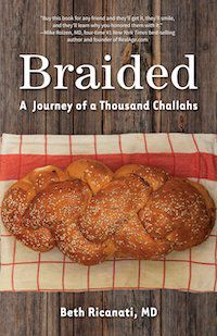 braided challah memoir cookbook
