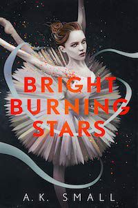 Bright Burning Stars by A. K. Small book cover