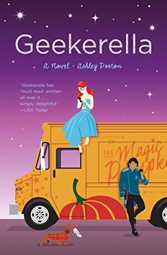 cover image of Geekerella by Ashley Poston
