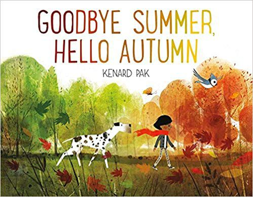goodbye summer, hello autumn book cover