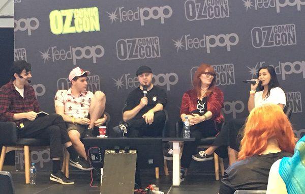 Oz Comic-Con 2019 Panel, Photo by A Cahill