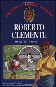 Roberto Clemente, Young Ball Player Book Cover