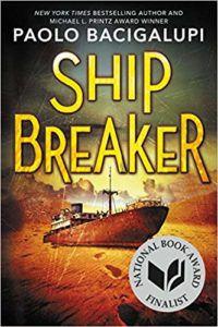 Ship Breaker by Paolo Bacigalupi cover