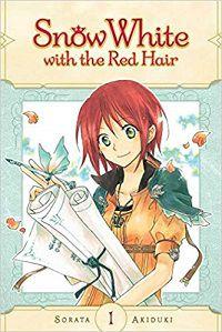 Snow White with the Red Hair volume 1 cover - Sorata Akiduki