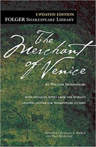 The Merchant of Venice Book Cover