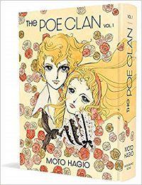 The Poe Clan volume 1 cover - Moto Hagio