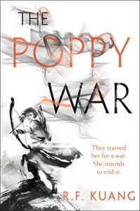 The Poppy War by R. F. Kuang book cover