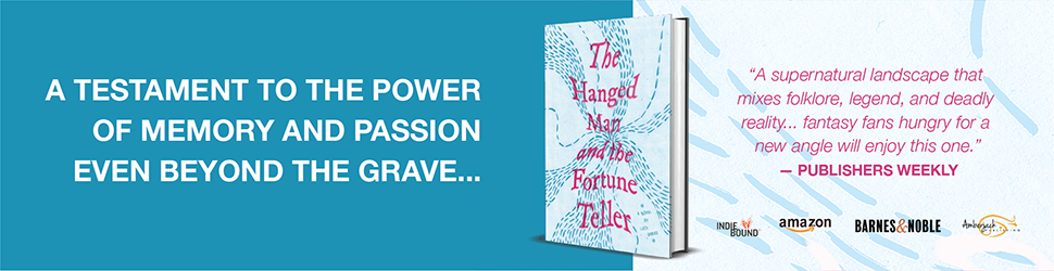 The Hanged Man book ad