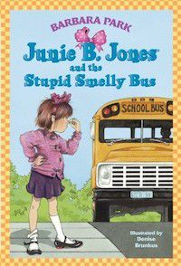 cover of junie b jones and the stupid smelly bus