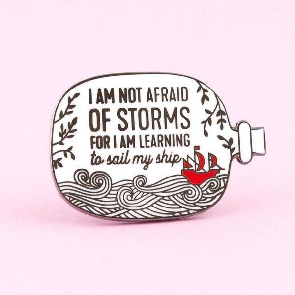 Little Women Louisa May Alcott quote i am not afraid of storms for i am learning how to sail my ship amy march