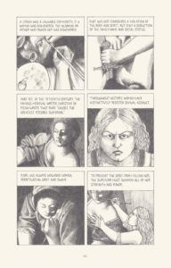 panels from i know what i am the life and times of artemisia gentileschi by gina siciliano