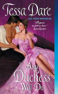 cover of Any Duchess Will Do by Tessa Dare
