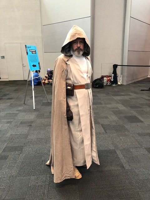Luke Skywalker cosplay
