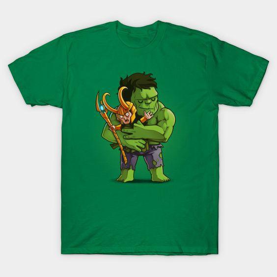 hulk and loki t-shirt