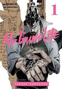 No Guns Life cover - Tasuku Karasuma