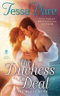 image of the cover of The Duchess Deal by Tessa Dare