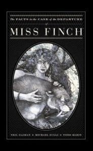 A black book cover featuring in an oval a photo of a woman with curly black hair holding a black cat in her hands