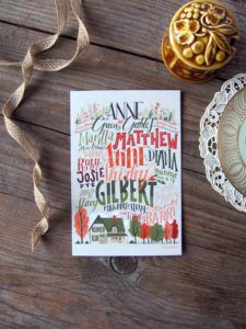 Anne of Green Gables cards