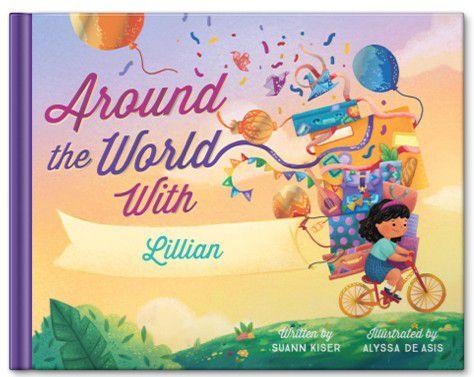 Around the World Personalized Kids Book
