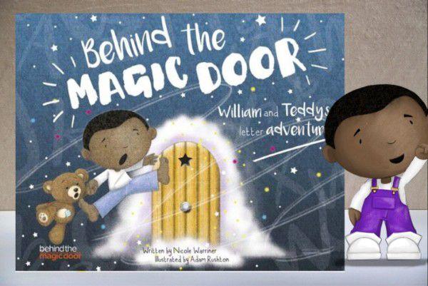 Behind the Magic Door Personalized Kids Book