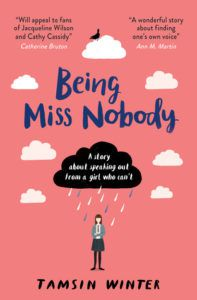 Being Miss Nobody by Tamsin Winter book cover