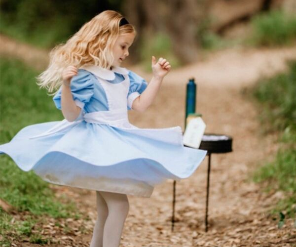 Alice in Wonderland Costume from Bookish Etsy Costumes | bookriot.com