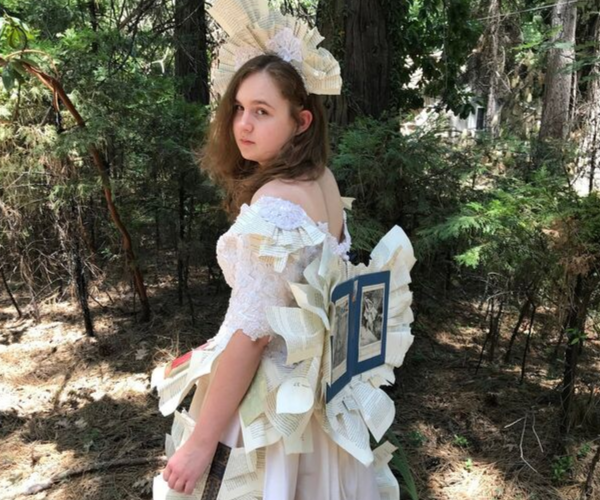 Book Fairy Costume from Bookish Etsy Costumes | bookriot.com