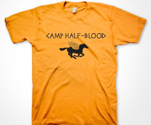 Camp Half-Blood Shirt from Bookish Etsy Costumes | bookriot.com