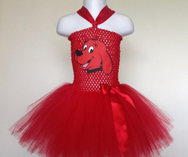 Clifford Tutu Dress from Bookish Etsy Costumes | bookriot.com