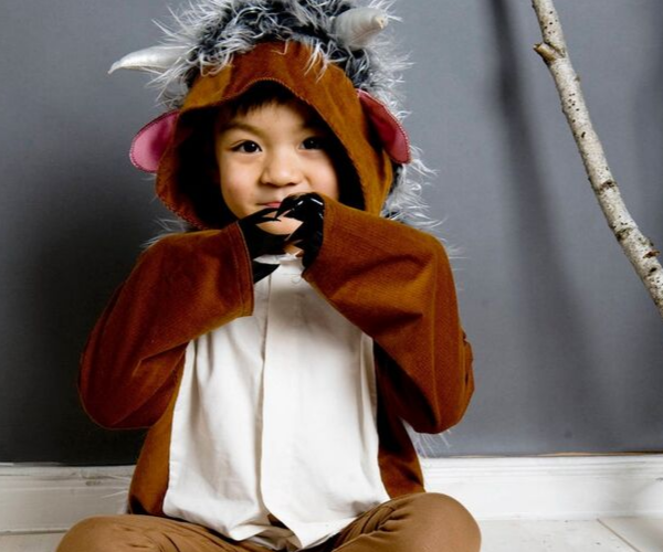 Gruffalo costume from Bookish Etsy Costumes | bookriot.com